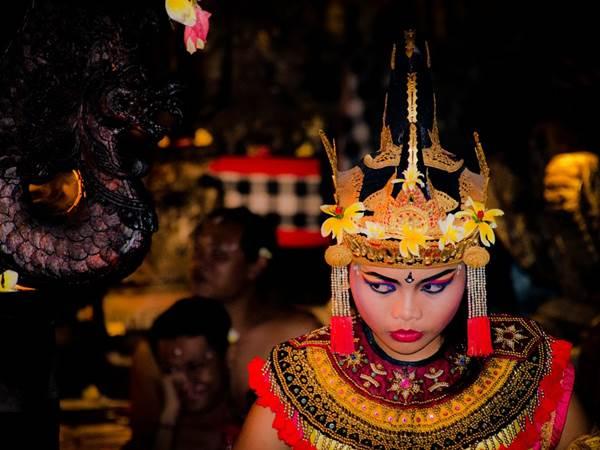 Kecak-dans, Ubud