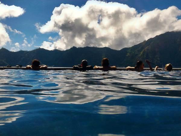 Varma källan i Batur