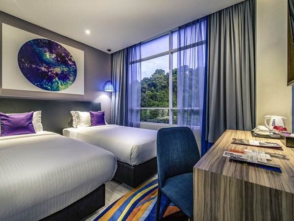 Mercure Hotel - Exempel på rum