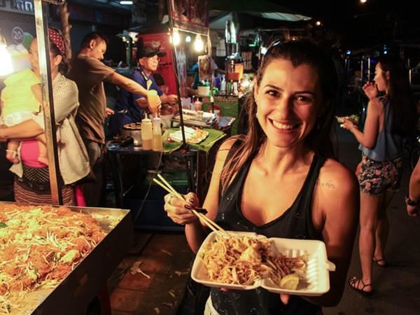 Kvällsmat i Chiang Mai