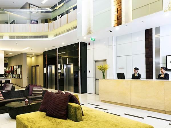Vic3 i Bangkok - Lobbyn
