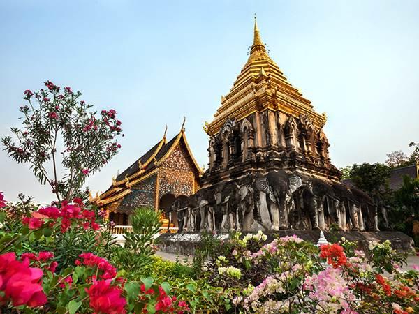 Wat Chiang Man i Chiang Mai