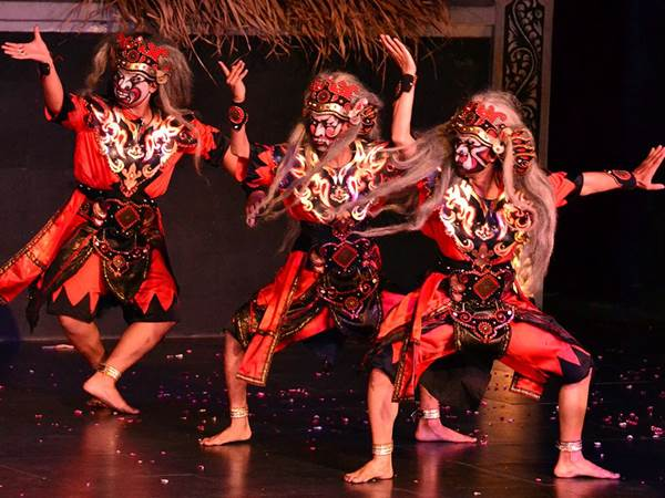 Ramayana-balett i Yogyakarta