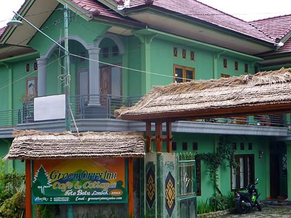 Green Orry Hotel i Tetebatu