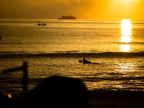 Solnedgang i Senggigi