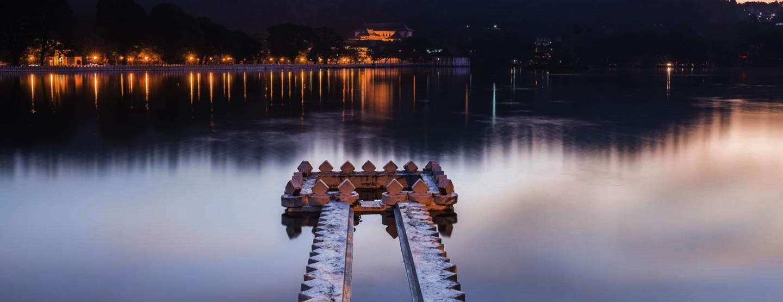 Rolig budgetresa på Sri Lanka: Två aktiva veckor