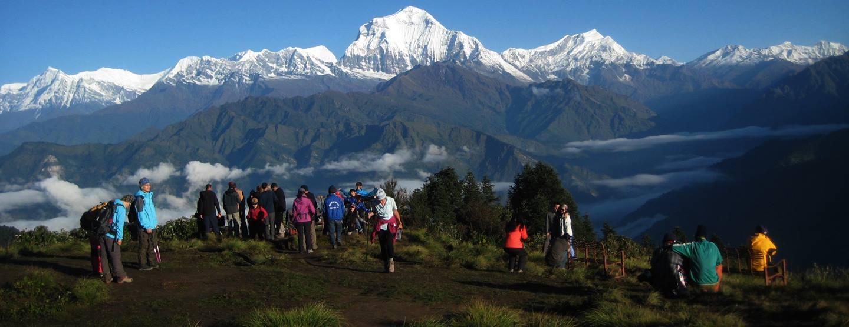 Budgetresa: Äventyr och Trekking i Nepal