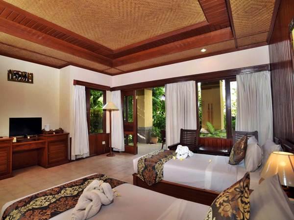 Sri Phala Resort And Villa - Exempel på twin-rum
