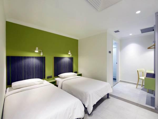 Hangout Hotel - Exempel på rum