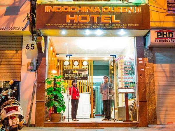 Indochina Queen II Hotel i Hanoi