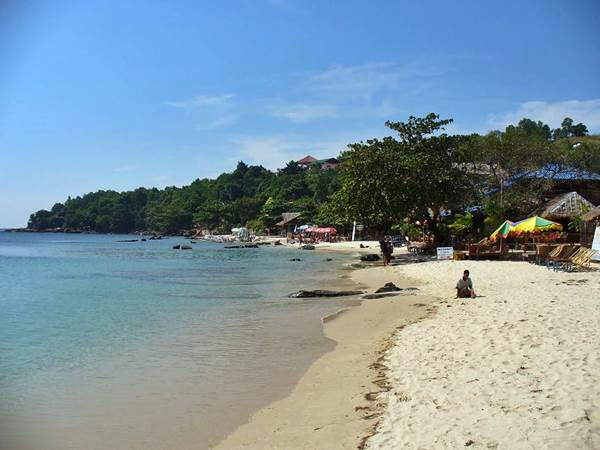 Serendipity Beach i Sihanoukville