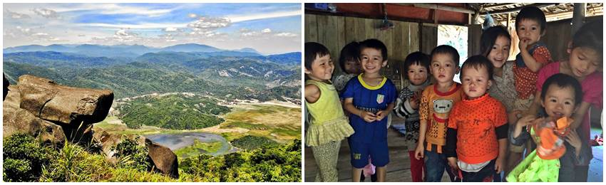 trekking-vandring-vietnam-ba dia