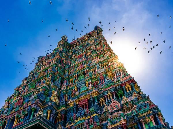 Meenakshitemplet, Madurai