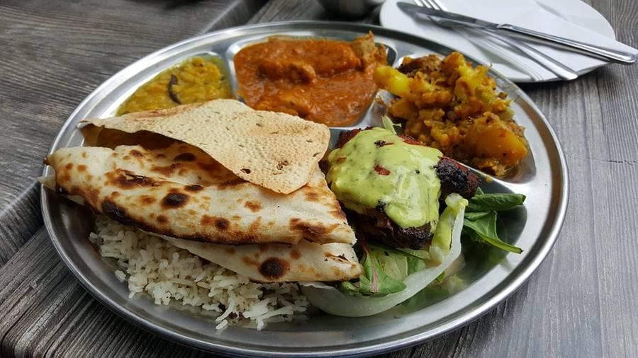 indisk mat veganer