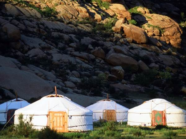 Ett typiskt ger-läger