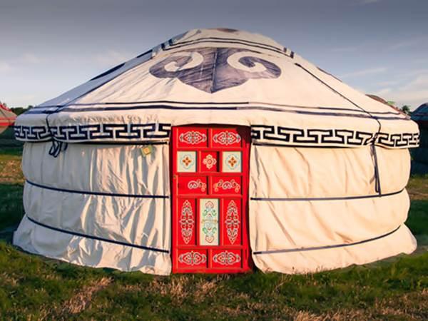 Exempel på ger-tält