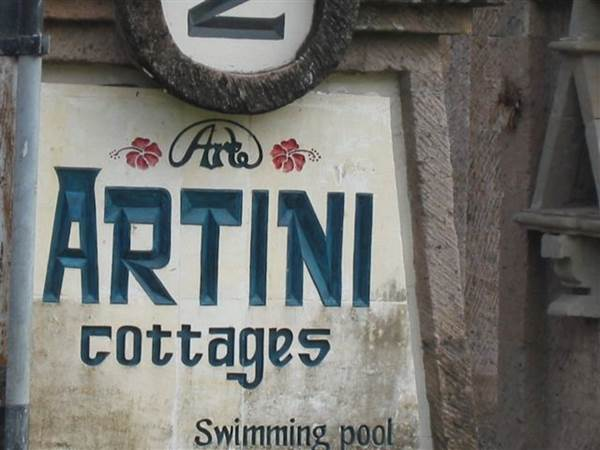 Artini 2 Cottages i Ubud