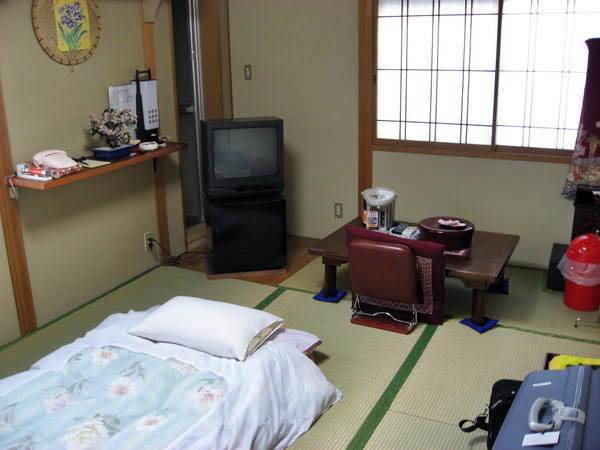 Heianbo Ryokan - Exempel på rum