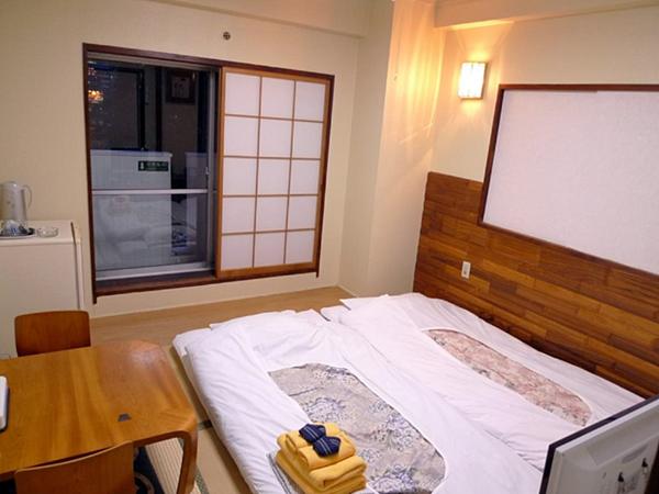 Kinuya Hotel - Exempel på rum (ryokan-stil)