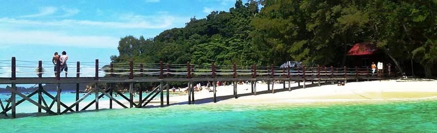 rundresa-borneo-Pulau Manukan