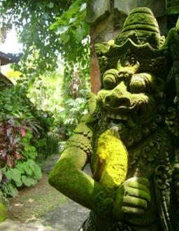 Äventyrsresor: Gammal staty Java