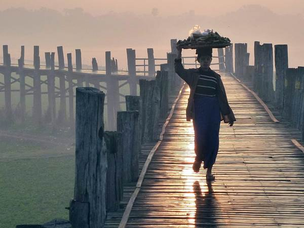 U Bein-bron, Amarapura