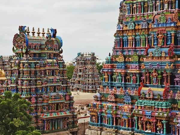 Meenakshi-templet, Madurai