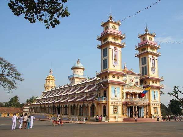 Cao Dai-templet i Tay Ninh (valfri utflykt)
