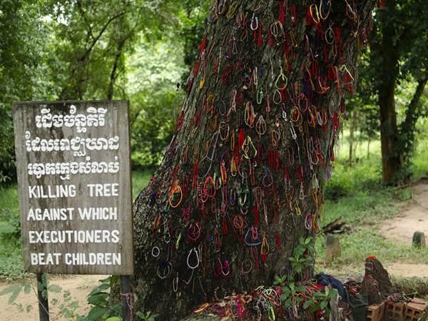 Dödens Fält utanför Phnom Penh