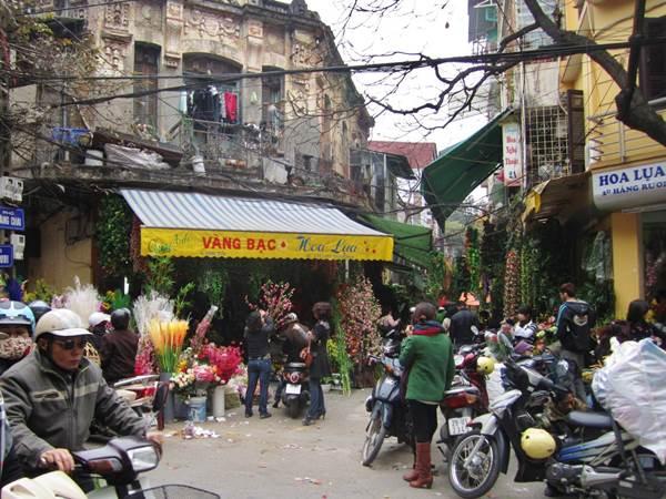 Gamla stan i Hanoi