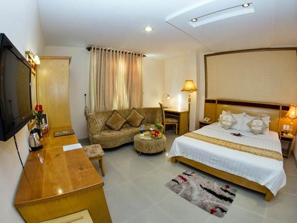 Hoang Phu Gia Hotel - Exempel på dubbelrum