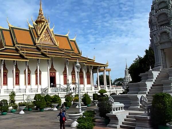 Silverpagodan i Phnom Penh