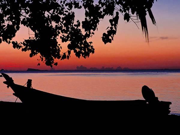 Solnedgång på Koh Phangan