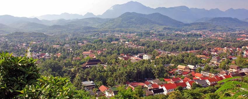 billig-resa-laos-luang-prabang-utsikt