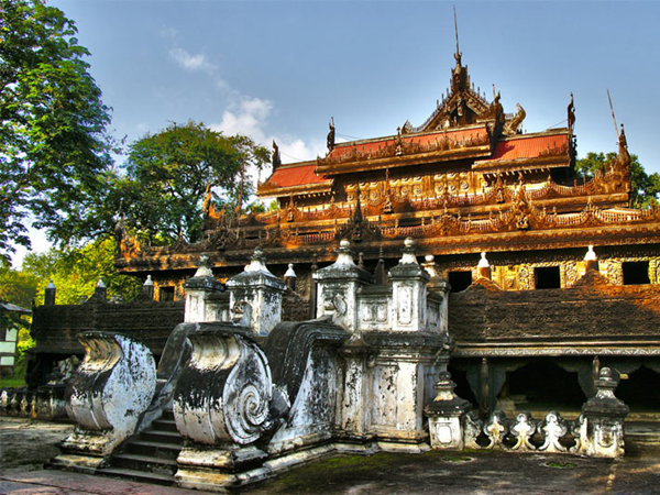 Kungliga Palatset i Mandalay