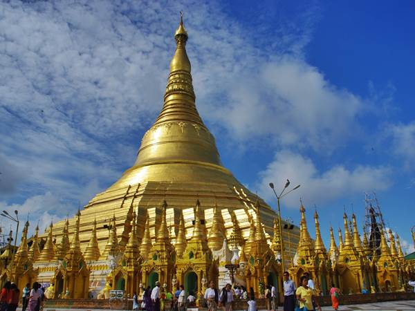 Shwedagon, Rangoon