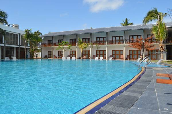 Carolina Beach Hotel i Chilaw