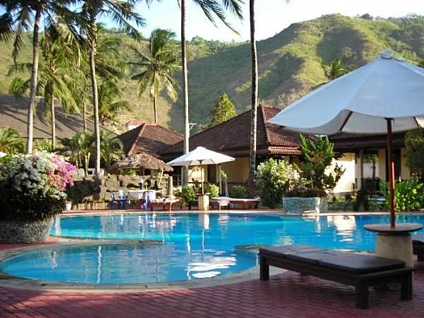 Indah Hotel i Kuta på Lombok