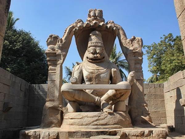 Narasimha Vigrah, Hampi