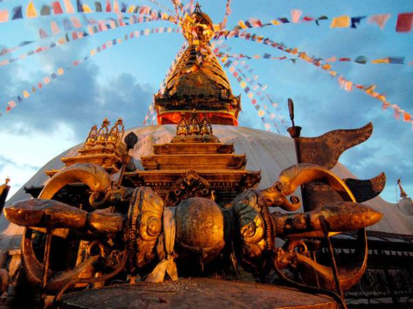 Swayambhunath i Kathmandu
