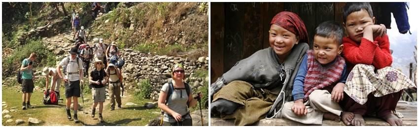trekking-nepal-Tirkedungha
