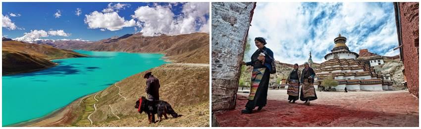 gruppresor-tibet-Yamdrok Tso