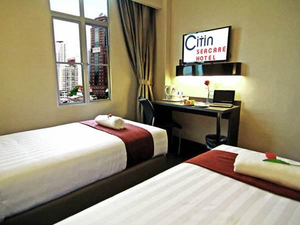 Citin Seacare Hotel - Exempel på twinrum