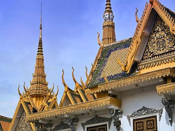 Kungliga Palatset i Phnom Penh