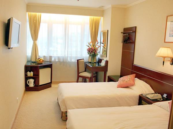 West Hotel i Hongkong - Exempel på rum