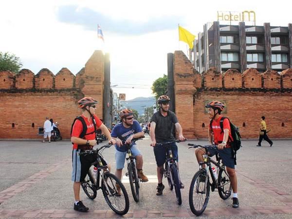 Cykla i Chiang Mai