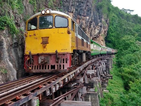 Dödens järnväg, Kanchanaburi