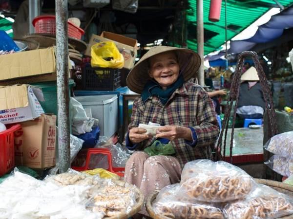 Marknaden i Hué