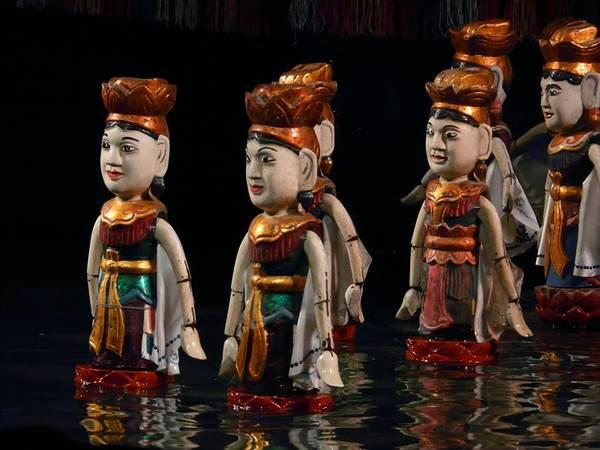 Vattenmarionetter i Hanoi