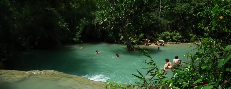 Upptäck norra Thailand och avslappnade Laos